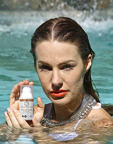 ORGANIC MOISTURIZER Spot Corrector Young and Bright All-in Spot Remover and Pigmentation treatment Sunscreen