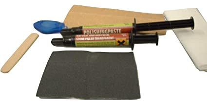 Repair Kit For – Chipped / Scratched Natural Artificial Stone, Marble,  Granite, Corian®, Grey, White, Black, Cream, Quartz or Any Colour