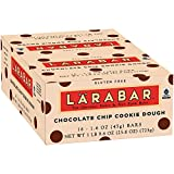 Lärabar Chocolate Chip Cookie Dough Fruit & Nut Bars 16 ct Box (Pack of 5)