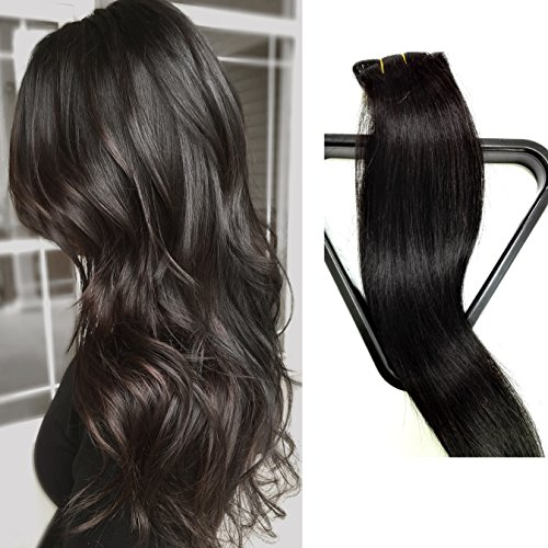 clip hair extensions real human