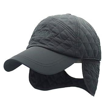 Sombrero de soldado de caza unisex Béisbol bordado Gorra de esquí A prueba de viento Sombrero