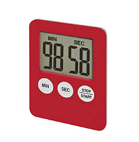 Digital 1.8 LCD Kitchen Mini Timer Count-Down Up Clock Alarm Magnetic Gadget