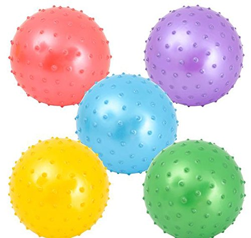 7'' KNOBBY BALL, Case of 1 by DollarItemDirect