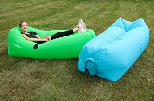 Holla Yella Inflatable Lounger Chair Stays Inflated