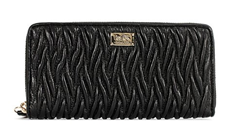 Coach Madison Leather Accordion Wallet