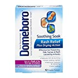Domeboro Astringent Solution Powder Packets - 12 packets, Pack of 4