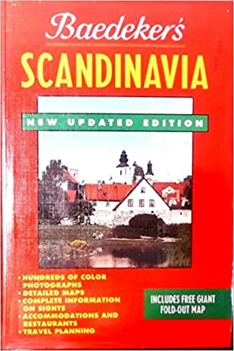 Book Baedeker Scandinavia: Norway Sweden Finland/Book and Map (Baedeker's Travel Guides)
