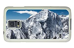 Hipster Samsung Galaxy S5 Case underwater mountaintops winter PC White for Samsung S5