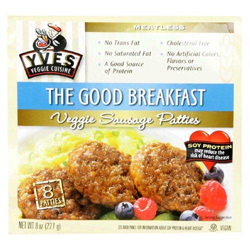 Yves, Patties Veggie Breakfast, 8 Ounce