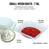 Pure Ponta Weigh Boats Small | 125 Pack 7ml
