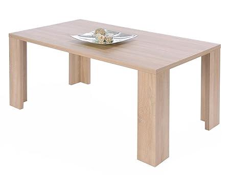 Mesa de comedor Siegen Colour a elección de 160 x 90 cm mesa de ...