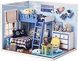 Mini doll house wooden furniture miniature toy