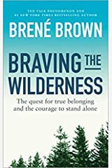 Braving the Wilderness by Brene Brown Book Paperback