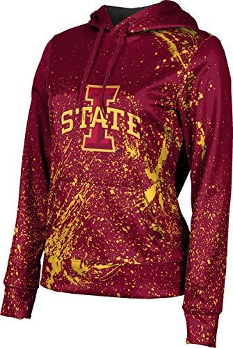 - ProSphere Iowa State University Women's Pullover Hoodie, School Spirit Sweatshirt (Splatter) FF4E