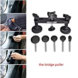 AUTOPDR 1pcs Dent Puller Bridge Black Car Body Paintless Dent Removal Remover Tool Kits Equipment for Car Auto Dent Repair