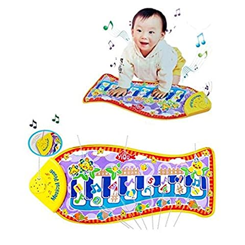 Parit Child Piano Mat Play Music Touch Fish Toy S Kids New Fun Baby Child's Gift Animal (Violin Practice Notebook)