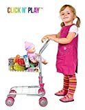 Precious toys Kids & Toddler Pretend Play Shopping Cart with Groceries