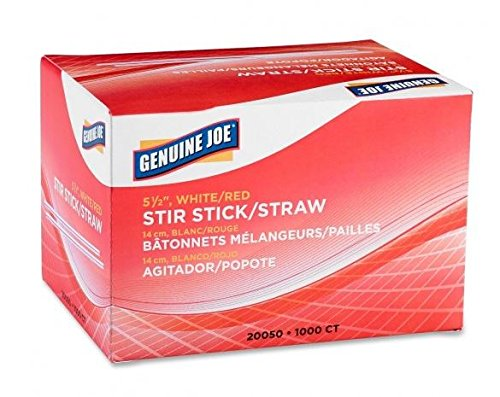 Stir Sticks, White, 1000/CT [Set of 3]