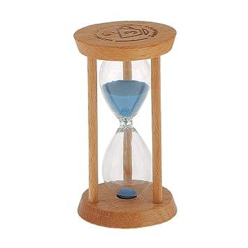 Ruiting 20 Min Runde Form Sand Glas Sanduhr Gerade Holz Timer Küche