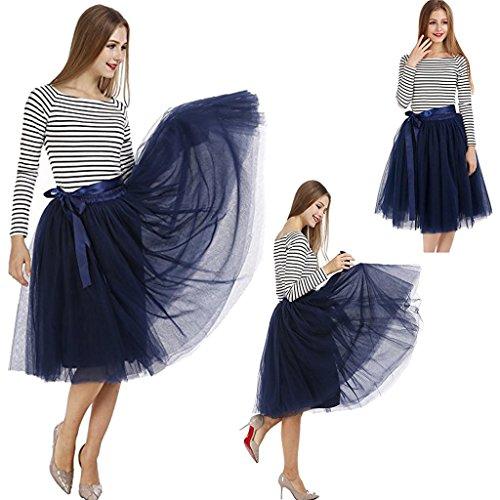 Super Modern - Vestido - trapecio - para mujer DarkBlue(58)
