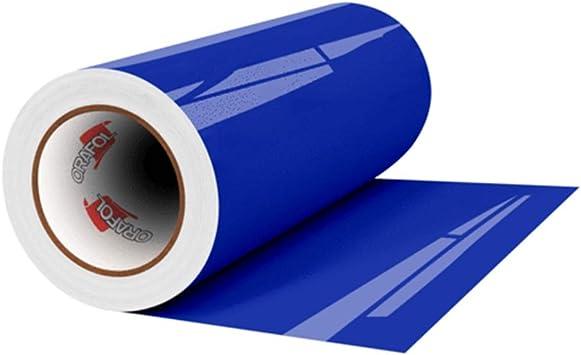 Free Ship Oracal 651 Glossy Permanent Vinyl 12 Inch x 6 Feet Dark Blue New