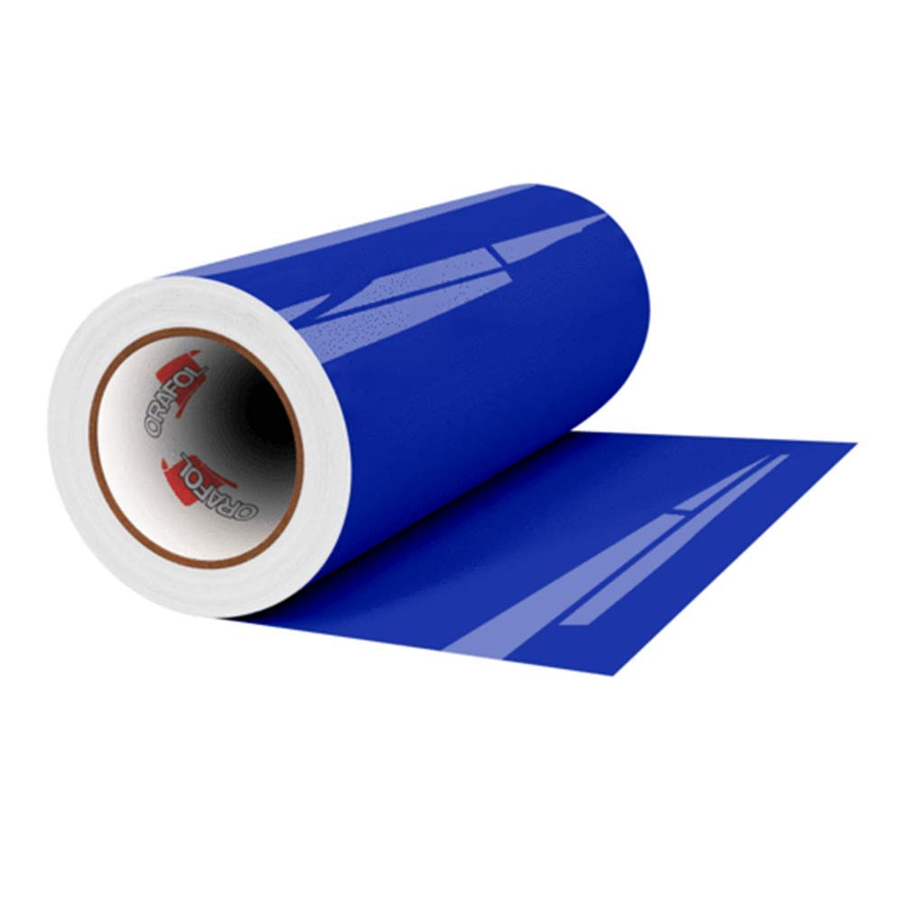 Oracal 651 Glossy Permanent Vinyl 12 Inch x 6 Feet - Brilliant Blue