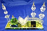 Large Crystal Mosque And Kaaba Decorative