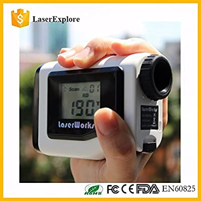 LaserWorks Rangefinder 600Y With LCD Angle Measuring Tool Measure Height Laser Measure Tools Digital Meter Measurement Area, Circle, Rectangular by DaZhen