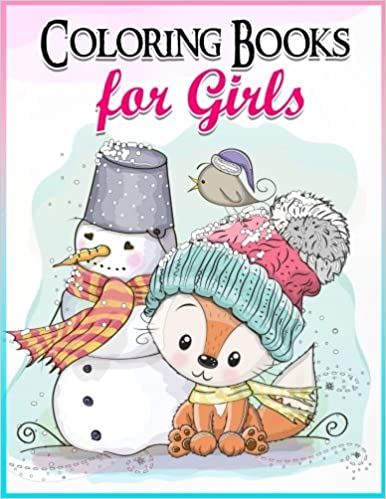 Coloring Books For Girls Gorgeous Book The Really Best Relaxing Colouring 2017 Cute Animal Penguin Panda Dog