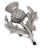 Cufflinks Direct Scottish Scott Scotland Pewter Rugby Thistle Stock Tie Lapel Pin Badge Brooch (Lapel Pin With Gift Bag)