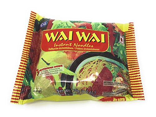 Wai Wai Nepali Instant Noodles by Chaudhary group (Box Pack of 30 Pcs) (Halal Chicken) (Best Iodized Salt In India)