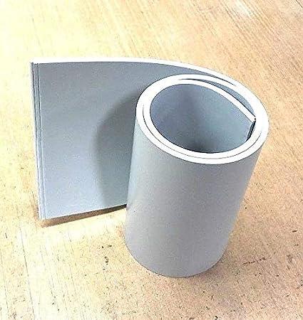 Silicone Rubber Sheet 1//4/'/'Thk x 18/'/' W x 38/'/' L Strip US Mil Spec 60 Duro Gray