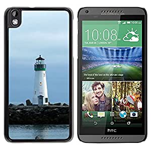 Impact Case Cover with Art Pattern Designs FOR HTC DESIRE 816 Lighthouse Lonely Lighthouse Betty shop