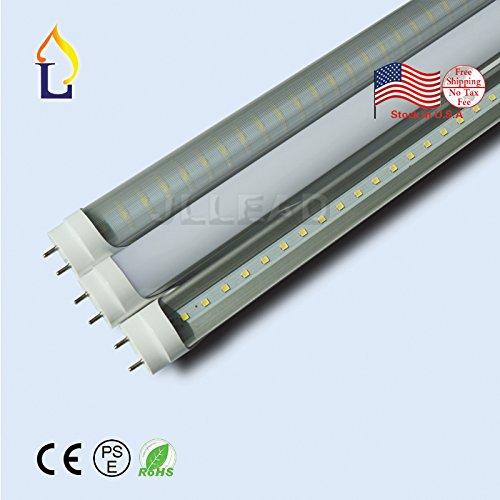 ( 5パック) 6 ft t8 30 W smd2835 1800 mm LEDライト電球g13ランプEconomiceエネルギーのための120度保存デスクライトホワイト壁ライト B077Q85V38