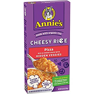 Annie's Homegrown Cheesy Rice - Pizza, 12 Count