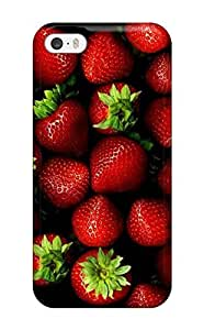 New Arrival Fresh Ripe Strawberries SJwvPzl1555vVStt Case Cover/ 5/5s Iphone Case
