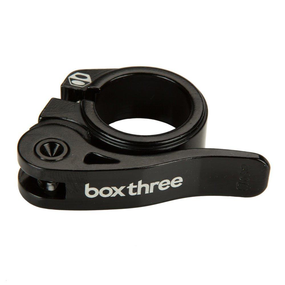ボックスコンポーネントボックス。3つ。qr Seat Clamp B075TWMXL4ブラック 25.4mm