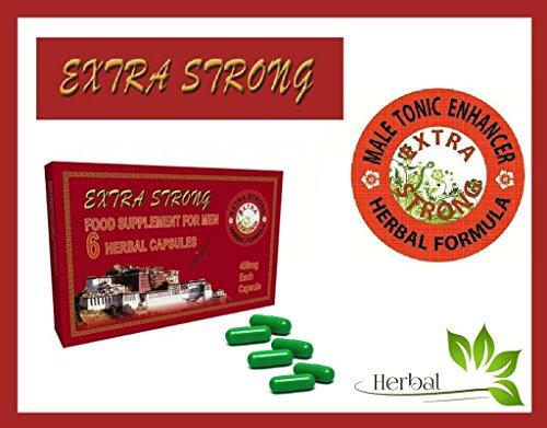 ORIGINAL EXTRA STRONG 6x Male Herbal Stamina Libido Tonic 450mg Pills in Retail Box