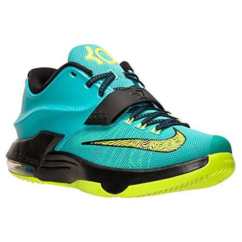 new styles d829a 4a6c9 Nike KD VII Men Hyper Jade Black Photo Blue Volt 653996-370 (SIZE  8.5) -  Buy Online in Oman.   Apparel Products in Oman - See Prices, Reviews and  Free ...