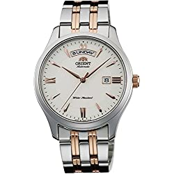 ORIENT Men's Watch WORLD STAGE COLLECTION World stage collection mechanical self-winding WV0221EV milky white WV0221EV