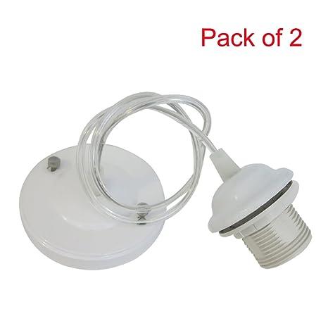 Lámpara de techo colgante con soporte para montaje Kit de ...