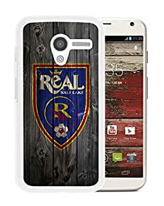 Moto X Case,100% brand new Real Salt Lake 14 White Case For Moto X