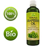 extract Pure Grape Seed Oil Extract Cold Pressed Extraction Moisturizing Antioxidant Oil for Skin Hair and Nails Great for Massage Anti Aging Face Moisturizer Hair Serum With Vitamins E C D for Women and Men