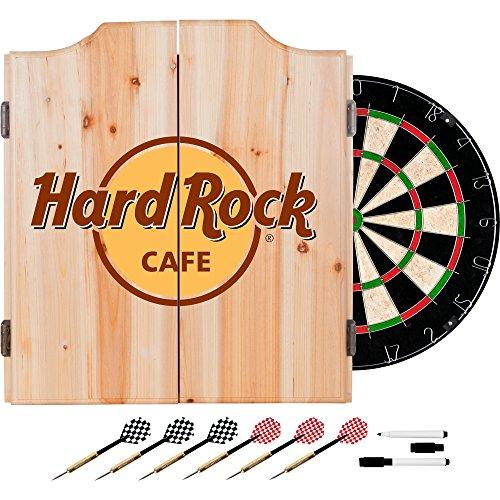 Hard Rock Cafe Dart Cabinet Set with Darts and (Logo Hard Rock Cafe)