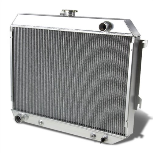 For Dodge Charger/Challenger Full Aluminum 3-Row Racing Radiator 1 Gen ()