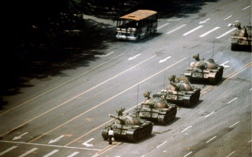 1991 TIANANMEN SQUARE PROTESTS MASSACRE GLOSSY POSTER PICTURE PHOTO BANNER