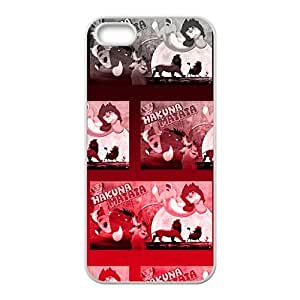 Happy Hakuna Matata Cell Phone Case for Iphone 5s