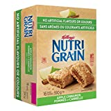 Kellogg's Nutri-Grain Apple Cinnamon Flavour 16 Bars (Pack of 3), 2.23 Kg