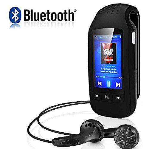 CFZC Bluetooth MP3 Player, Sport Clip MP3 Player 8GB Lossles