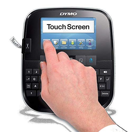 DYMO LabelManager 500TS Full-Colour Touch Screen Label Maker with PC or Mac Connection (1790417) (Dymo Office Software File)